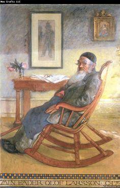 Carl Larsson My Father,Olof Larsson 1903*