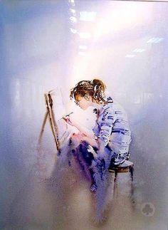 Dong Kecheng ~ Watercolor