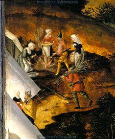 Detail from Heerlagers Karls V. bei Lauingen