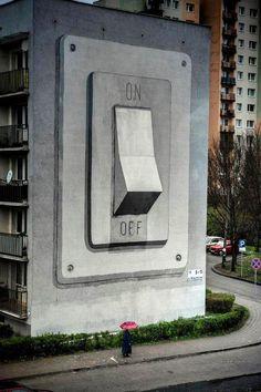 #StreetArt by Escif @ Katowice Street Art Festival, Poland.