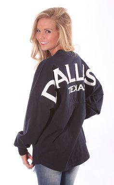 Dallas Spirit Jersey – navy