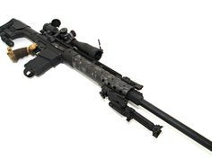 dpms lr308 assault rifle.  Most people say it is the number one .308 sniper rifle you can buy on the market.  Just love it.