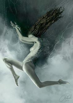 Aquarius by Jacek Rudowski, via Behance