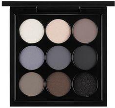 For navy smoky eyes!  -  M·A·C Eyeshadow Palette