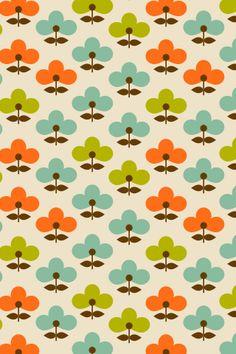 Wannabe Orla Kiely pattern by MipsyRetro http://miahargreave.tumblr.com/