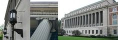 COLUMBIA UNIVERSITY, Butler Library, New York NY. Facade Renovation and Plaza Design.
