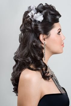 Hair Side View #Up-Dos Dream Catchers Salon LIKE us on www.facebook.com/DreamCatchersSalon and visit us at www.ellahairdesign.com
