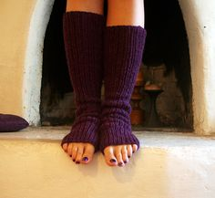 Ravelry: Super-Easy Leg Warmers pattern by Joelle Hoverson