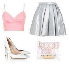 Good Girl :) by whatshername-80 on Polyvore featuring Topshop, Gianvito Rossi and Moschino