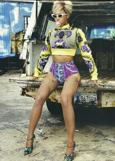 Beyonce photographed by Sharif Hamza for Dazed and Confused, July 2011