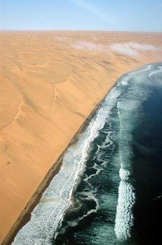 """The """"Long Wall"""" is a prominent coastal area of the Namib that runs along the Sperrgebiet in southwestern Namibia"""