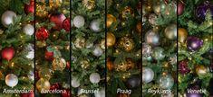 Onze kleurpakketten zijn vernoemd naar Europese hoofdsteden. Welk kleurpakket past het beste bij uw bedrijf?   Bekijk ons gehele assortiment op onze webshop, link in bio/ webshop.ambius.nl   #kleurpakketten #kerst #beleving #ambius #kerstdecoraties #kerstopkantoor #sfeer