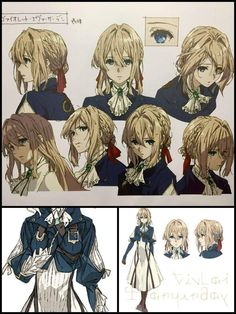 Violet Evergarden ✒|| Art Process | Anime Amino