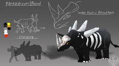 LUNAverse Fanon - Grimm Rhino by Lightning-in-my-Hand.deviantart.com on @DeviantArt