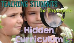 Teaching Students to Discover the Hidden Curriculum