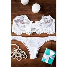 Womens Lingerie Set, Lace Lingerie, Plus Size Lingerie, Underwear Set,... ($93) ❤ liked on Polyvore featuring intimates, white lingerie, lacy lingerie, sexy lingerie, sheer lingerie and sheer sexy lingerie