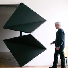 Like the design of functional objects such as chairs or tables, it would seem new ideas for the humble door would be completely exhausted, and then along comes Austrian artist Klemens Torggler. This 4-panel entryway called the Evolution Door opens and closes in a surprisingly elegant way a