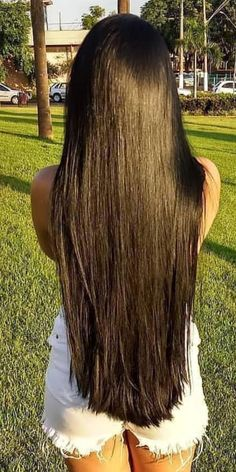 Long Dark Hair, Grow Long Hair, Very Long Hair, Thick Hair, Beautiful Long Hair, Gorgeous Hair, Long Hairstyles, Straight Hairstyles, Glossy Hair