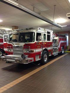 Monroe Fire (NC) Engine 1 / Pierce Arrow XT Pumper