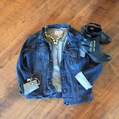 Jean jacket Essential summer jacket.  Timeless.  No flaws.  Smoke free home. Old Navy Jackets & Coats Jean Jackets