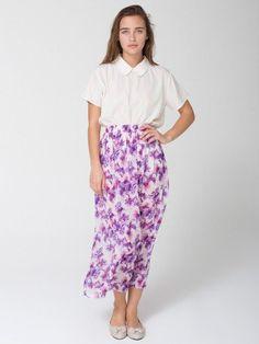 #American Apparel         #Skirt                    #American #Apparel #Floral #Full #Length #Skirt     American Apparel - Floral Full Length Skirt                                   http://www.seapai.com/product.aspx?PID=1069738