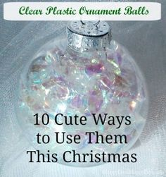 – 10 Cute Ways to Use Them This Christmas - totally things I've never thought of!
