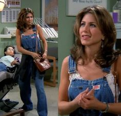 The Effective Pictures We Offer You About rachel green outfits dungarees A quality picture can tell Rachel Green Outfits, Estilo Rachel Green, Rachel Green Hair, Rachel Green Style, Rachel From Friends Outfits, Rachel Green Fashion, Rachel Hair, Rachel Friends, Estilo Jennifer Aniston