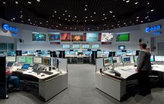 ESOC serves as the Operations Control Centre for ESA missions, and hosts our Main Control Room (shown here), combined Dedicated Control Rooms for specific missions and the Estrack Control Centre – which manages ESA's worldwide network of ground tracking stations. ESOC also hosts facilitie…