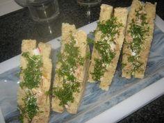 Tante Sød: Sandwich m/kylling, asparges og radise