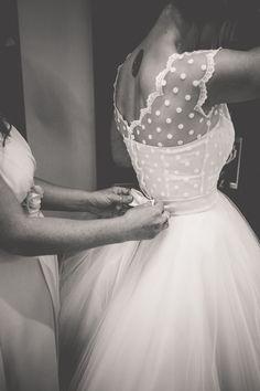 Bohemian wedding dress - boho wedding dress - short wedding dress - beach little wedding dress - Wedding Dresses Models Boho Wedding Dress Bohemian, Vintage Inspired Wedding Dresses, Best Wedding Dresses, 50s Style Wedding Dress, Wedding Dress Bow, Weding Dresses, Reception Dresses, Bohemian Dresses, Bridesmaid Gowns