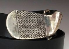 Vintage inspired Golf Buckle handmade in by TafSchaeferDesign