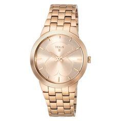 Reloj B- Face rosado de acero - Tous