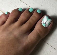 51 Adorable Toe Nail Designs For This Summer-- 51 Adorable Toe Nail Designs For This Summer – StayGlam Toe Designs, Pedicure Designs, Pedicure Nail Art, Diy Nail Designs, Toe Nail Art, Nail Designs For Toes, Summer Toe Nails, Gel Nails, Diva Nails