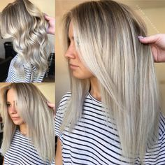 Instagram @hotteshair Balayage Blonde