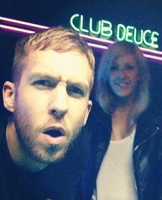 Hang on, why is Ellie Goulding kissing Calvin Harris in Miami?