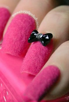 Endless Madhouse!: NAIL TREND ALERT! Fuzzy and Furry Nails!!!
