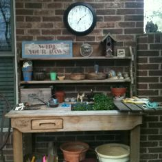Garden Work Bench | For The Yard | Pinterest | Garden Works, Bench And  Gardens