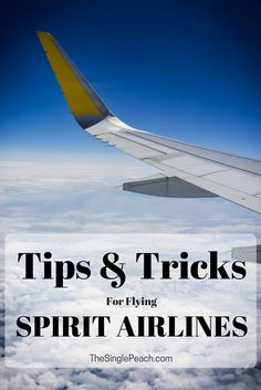 """Some """"good to know"""" things about flying with the budget airline, Spirit"""