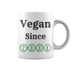 Vegan Since 2008 Mug Green #2008 #tshirts #birthday #gift #ideas #Popular #Everything #Videos #Shop #Animals #pets #Architecture #Art #Cars #motorcycles #Celebrities #DIY #crafts #Design #Education #Entertainment #Food #drink #Gardening #Geek #Hair #beauty #Health #fitness #History #Holidays #events #Home decor #Humor #Illustrations #posters #Kids #parenting #Men #Outdoors #Photography #Products #Quotes #Science #nature #Sports #Tattoos #Technology #Travel #Weddings #Women