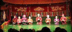 water puppet show in Hanoi