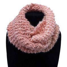 Coral Stripes - Handmade by Primrose Cowls, Infinity, Scarves, Stripes, Warm, Crafty, Crochet, Handmade, Fashion