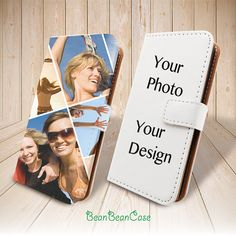 Custom photo picture personalized design wallet case for iPhone 6 6 plus 5 5S 5c iPhone 4 4S, moto X, samsung galaxy S5 S4 S3 Note 3 Note 4, LG G3
