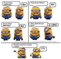 Funny Minion Cartoon Strip - http://jokideo.com/funny-minion-cartoon-strip/