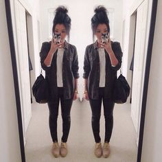 black skinny jeans fashion - Google Search