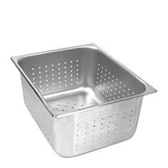 Stainless Steel Perforated Half Size Pan 6