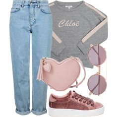Untitled #816 by cece-cherry on Polyvore featuring moda, Chloé, Topshop, Steve Madden and Sunday Somewhere