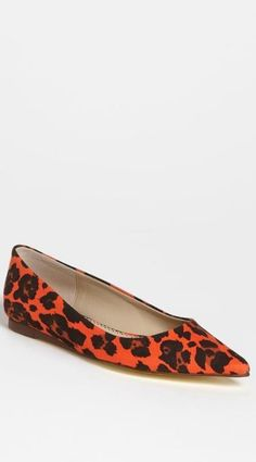 Stella McCartney Leopard Flat