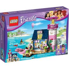 Friends O Farol De Heartlake Lego Colorido