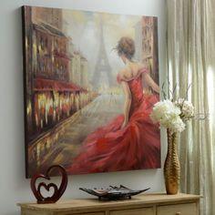Pursuit of Romance Canvas Art | Kirklands