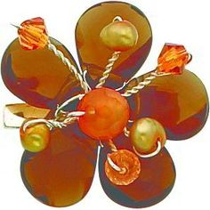 $22.99 This is a beautiful new Sterling Silver Crystal Multi Gemstone Pin. It is a great gift for yourself or a loved one and makes the perfect addition to any jewelry collection. Style-Pin Metal-Sterling Silver Gemstones-Quartz, Carnelian, Imitation Pearl Gemstone shape-Pear Approximate weight-2.409 grams